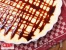 Рецепта Лесен сладкиш без печене с праскови, извара и маскарпоне